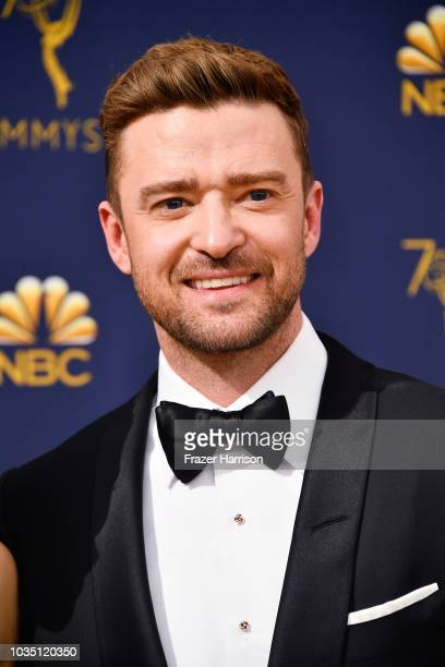 Justin Timberlake attends the 70th Emmy Awards at Microsoft Theater on September 17 2018 in Los Angeles California
