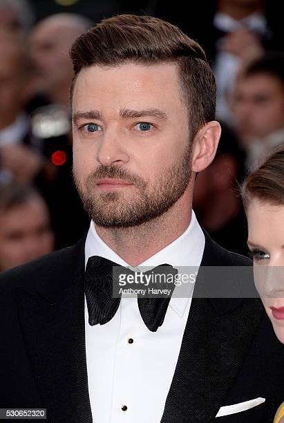 Justin Timberlake attends the 'Cafe Society' premiere and the Opening Night Gala during the 69th annual Cannes Film Festival at the Palais des...