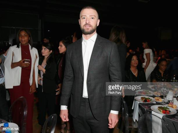 Justin Timberlake attends The Hollywood Reporter's 2017 Women In Entertainment Breakfast at Milk Studios on December 6 2017 in Los Angeles California