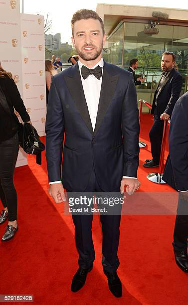 Justin Timberlake attends the House Of Fraser British Academy Television Awards 2016 at the Royal Festival Hall on May 8 2016 in London England