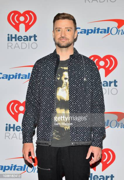 Justin Timberlake attends the iHeartRadio Music Festival at TMobile Arena on September 22 2018 in Las Vegas Nevada