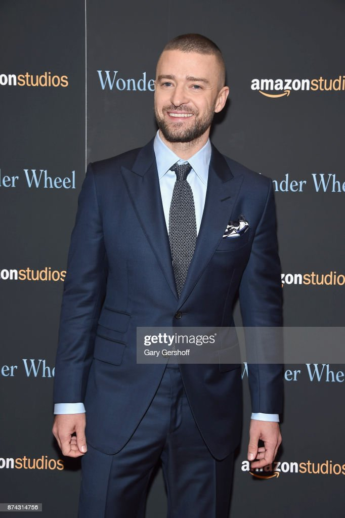 Justin Timberlake attends the 'Wonder Wheel' New York screening at the Museum of Modern Art on November 14, 2017 in New York City.