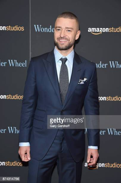 Justin Timberlake attends the 'Wonder Wheel' New York screening at the Museum of Modern Art on November 14 2017 in New York City