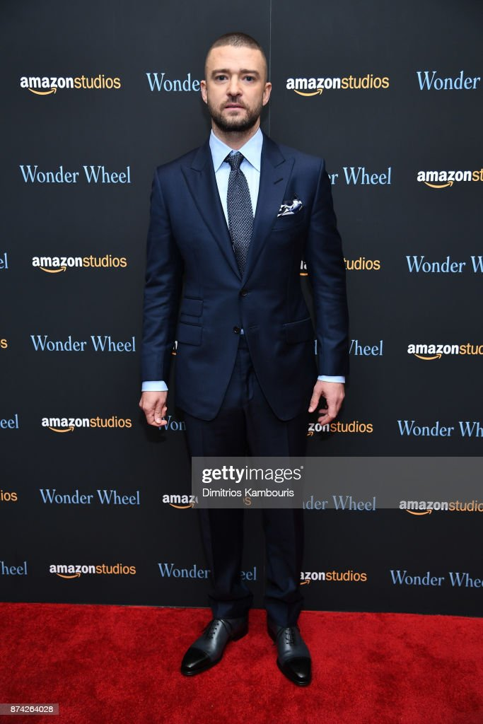 Justin Timberlake attends the 'Wonder Wheel' screening at Museum of Modern Art on November 14, 2017 in New York City.