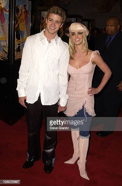 Justin Timberlake Britney Spears during 'Crossroads' Hollywood Premiere at Grauman's Chinese Theatre in Hollywood California United States