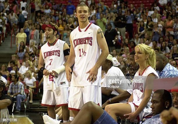 Justin Timberlake Chris Kirkpatrick Britney Spears