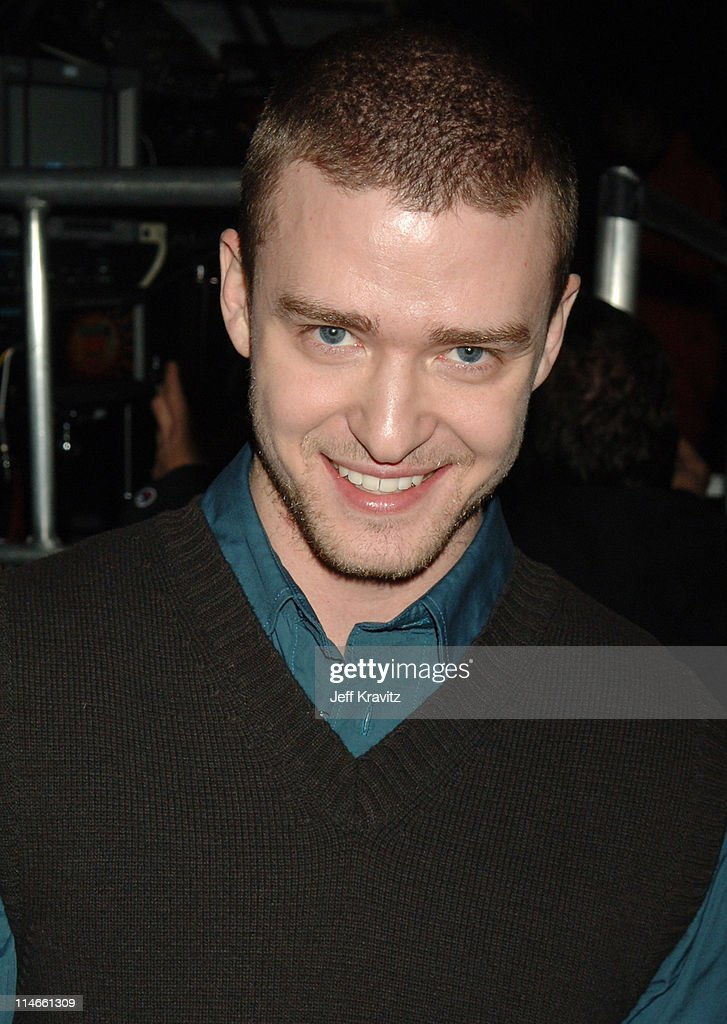 Justin Timberlake during Nickelodeon's 19th Annual Kids' Choice Awards - Backstage and Audience at Pauley Pavillion in Westwood, California, United States.