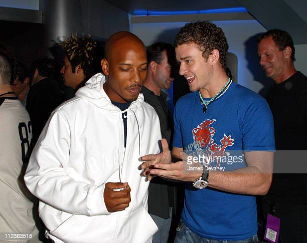 Justin Timberlake during *NSYNC Challenge for the Children IV After Party at Groove at Groove in Orlando Florida United States