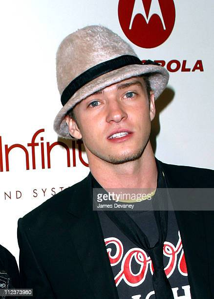 Justin Timberlake during P Diddy and Guy Oseary Host Their PostVMA Party at Cipriani's Presented by RBK Arrivals at Cipriani's in New York City New...