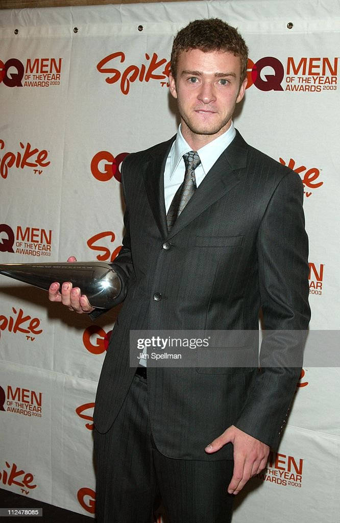 Spike TV Presents the 2003 GQ Men of the Year Awards - Press Room : News Photo