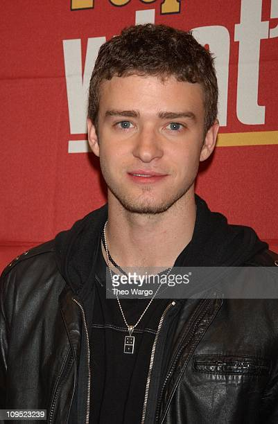 Justin Timberlake during Teen People Magazine Takes a Look at 'What's Next' in New Talent Arrivals at Hammerstein Ballroom in New York New York...