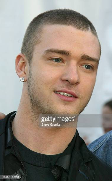 Justin Timberlake during The 30th Annual American Music Awards Arrivals at Shrine Auditorium in Los Angeles California United States