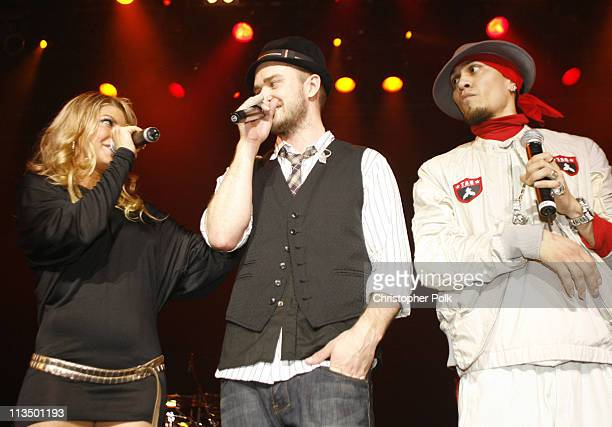 Justin Timberlake Fergie and Taboo of the BlackEyed Peas