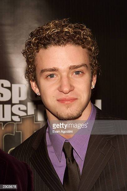 Justin Timberlake from NSYNC at Sports Illustrated's 'Sportsman of the Year' award ceremony at the Beacon Theater in New York City Photo Evan...