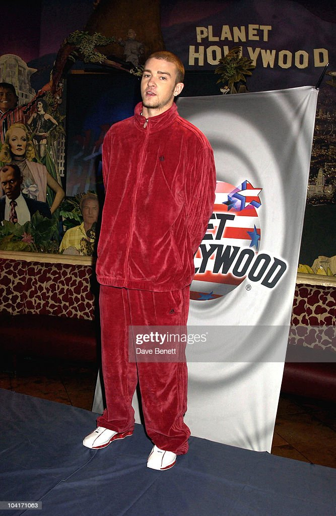 Justin Timberlake, Justin Timberlake At Planet Hollywood In London. The American Teen Star Turned Up Unexpectedely While On A Promotional Tour Of His New Single 'Cry Me A River', Lucky Planet Hollwood Customers Caught A Glimpse Of Him As He Welcomed Them, Joking Ônot To Worry, He Was'Nt About To Cook Their Burgers'