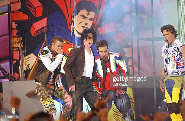 Justin Timberlake Michael Jackson Chris Kirkpatrick and JC Chasez