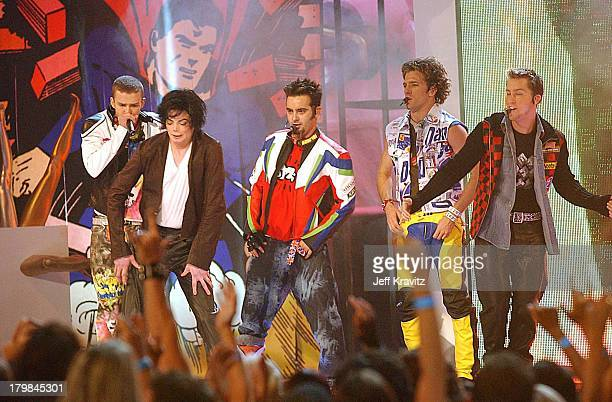 Justin Timberlake Michael Jackson Chris Kirkpatrick JC Chasez and Lance Bass