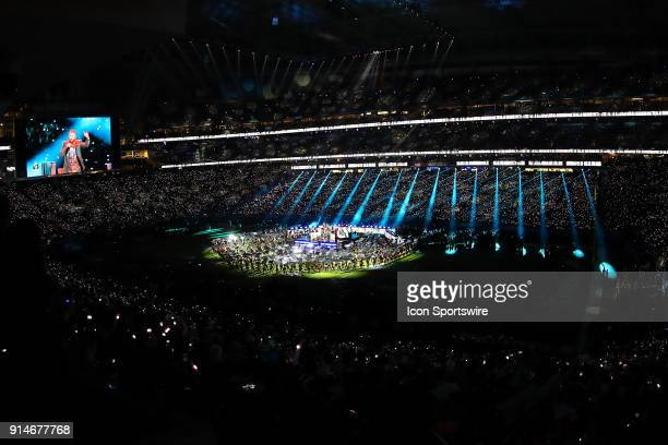 Justin Timberlake performs during the Pepsi Super Bowl Halftime Show of Super Bowl LII on February 4 at US Bank Stadium in Minneapolis MN