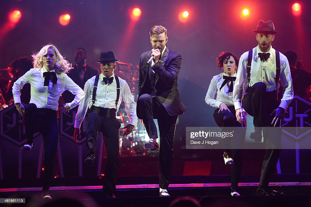 Justin Timberlake The 20 /20 Experience World Tour - O2 Arena : ニュース写真