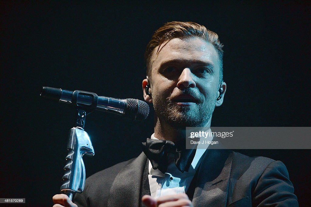 Justin Timberlake Performs At The Motorpoint Arena, Sheffield : News Photo