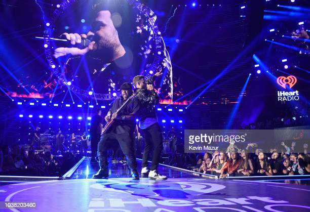 Justin Timberlake performs onstage during the 2018 iHeartRadio Music Festival at TMobile Arena on September 22 2018 in Las Vegas Nevada
