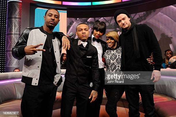 Justin Timberlake visits BET's '106 Park' at BET Studios on March 14 2013 in New York City