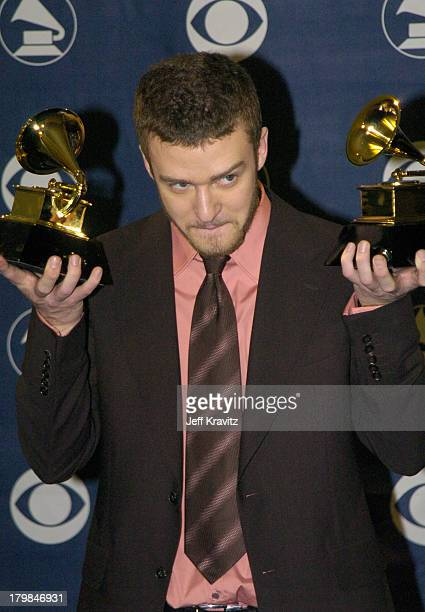 Justin Timberlake winner for Best Male Pop Vocal Performance and Best Pop Vocal Album
