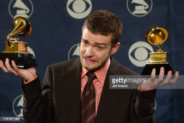 Justin Timberlake winner of Best Pop Vocal Album
