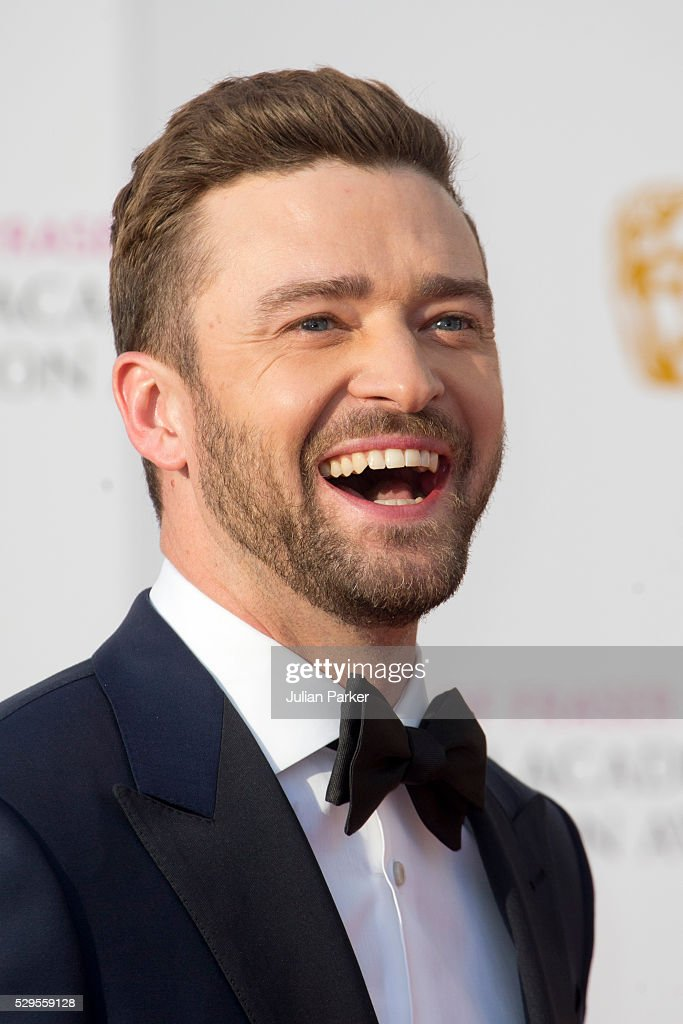 Justin Timeberlake attends the House Of Fraser British Academy Television Awards 2016 at the Royal Festival Hall on May 8, 2016 in London, England..