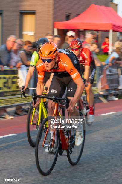 Justin Timmermans of The Netherlands and Roompot - Charles Cycling Team during the 2019 Spektakel van Steenwijk on August 6, 2019 in Steenwijk,...