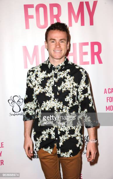 Justin Tinucci arrives for a luncheon in honor of Mother's Day for the release of Pamela L Newton's 'A Candle For My Mother' held at Los Angeles Film...