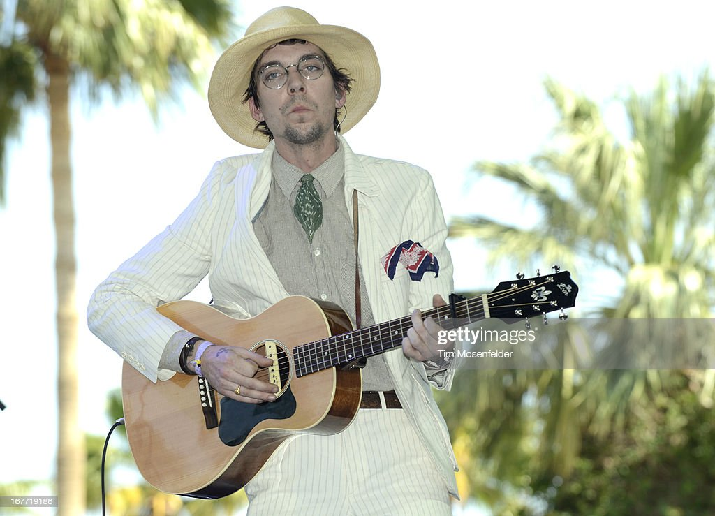 Justin Townes Earle performs as part of the Stagecoach Music Festival at the Empire Polo Grounds on April 27, 2013 in Indio, California.
