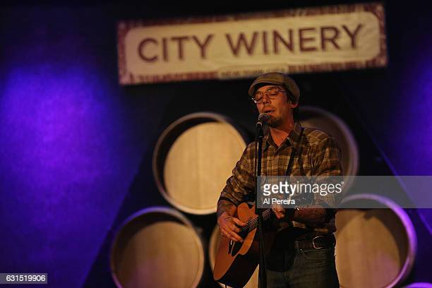 Justin Townes Earle performs at City Winery on January 11 2017 in New York City