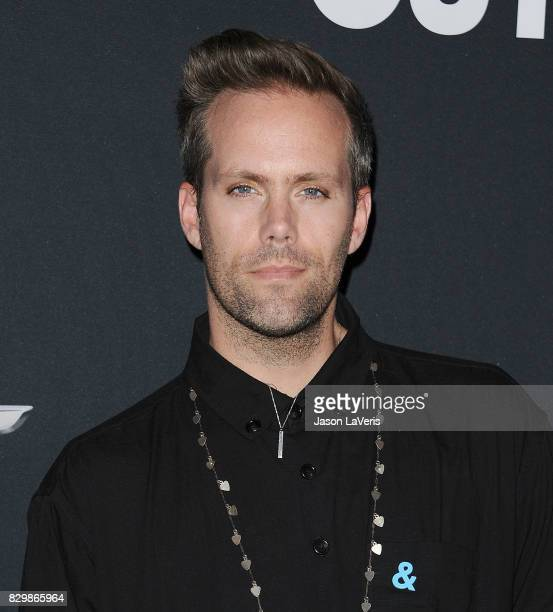 Justin Tranter attends OUT Magazine's inaugural POWER 50 gala and awards presentation at Goya Studios on August 10 2017 in Los Angeles California
