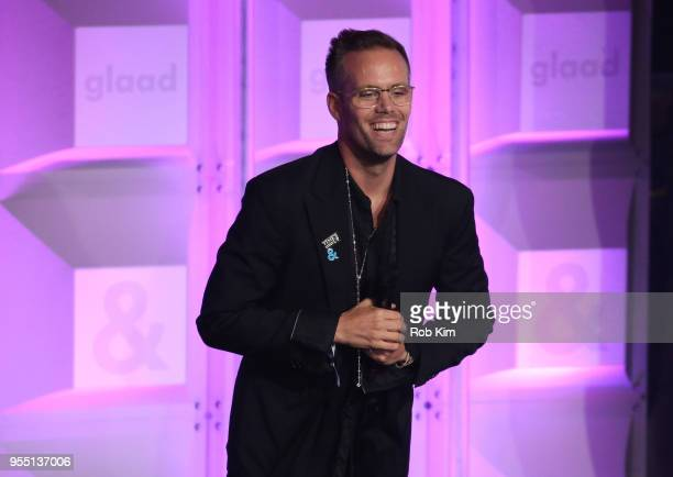 Justin Tranter attends the 29th Annual GLAAD Media Awards at Mercury Ballroom at the New York Hilton on May 5 2018 in New York City