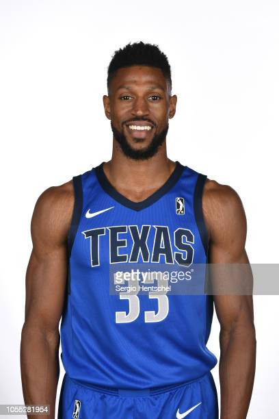Justin Tubbs of the Texas Legends poses for a head shot during the NBA GLeague media day at Dr Pepper Arena in Frisco Texas NOTE TO USER User...