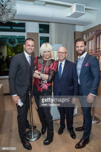 Justin Tuinstra ML Perlman Howard Lorber and Glenn Davis attend the Alfa Development Launch Celebration on October 12 2017 in New York City