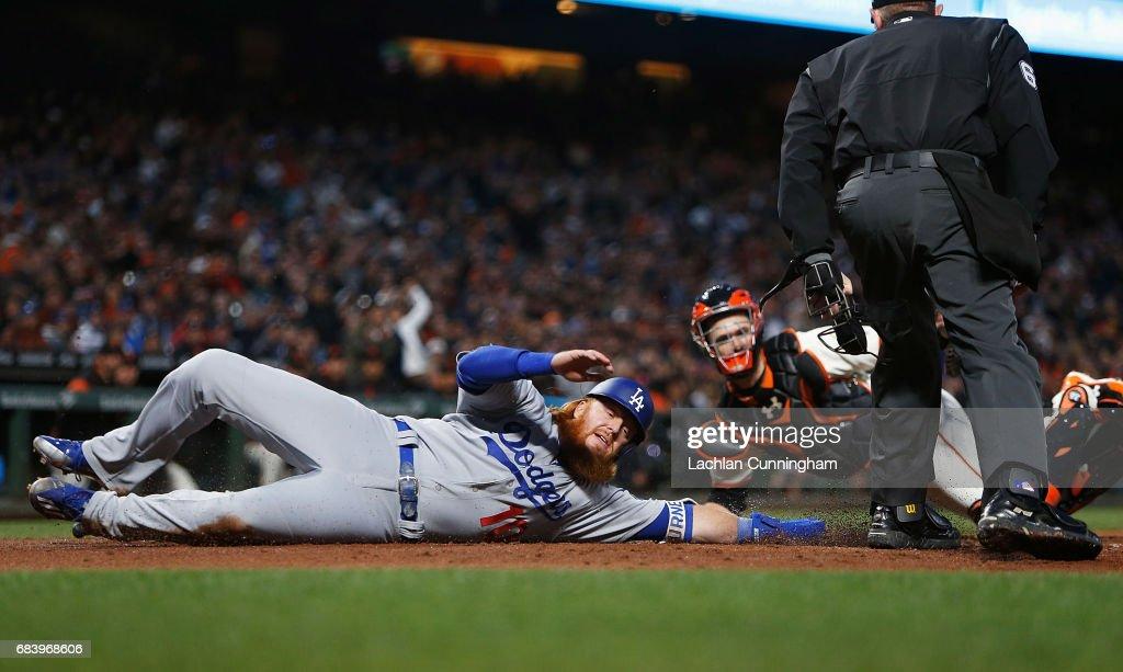 Los Angeles Dodgers v San Francisco Giants