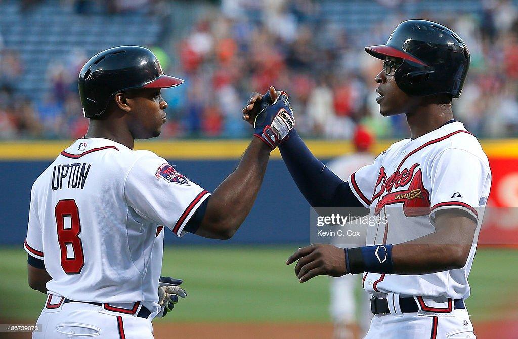 Cincinnati Reds v Atlanta Braves : News Photo