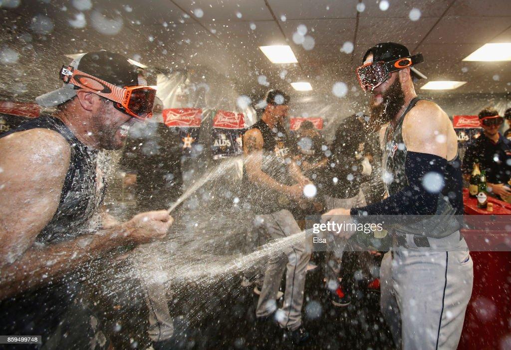 Divisional Round - Houston Astros v Boston Red Sox - Game Four : ニュース写真