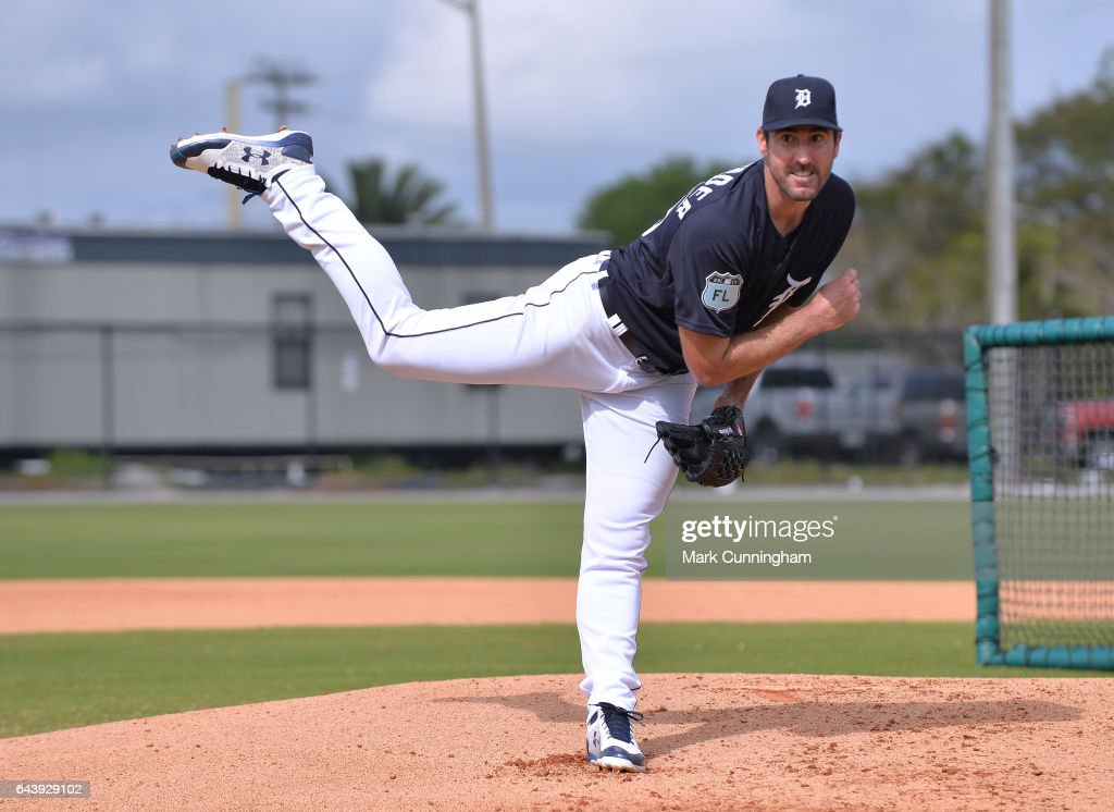 Detroit Tigers Workout : News Photo
