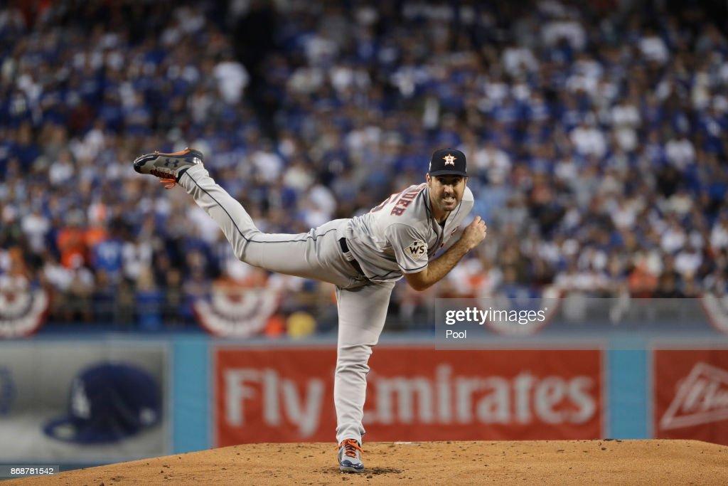 World Series - Houston Astros v Los Angeles Dodgers - Game Six : News Photo