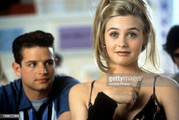 Justin Walker and Alicia Silverstone in a scene from the film 'Clueless', 1995.