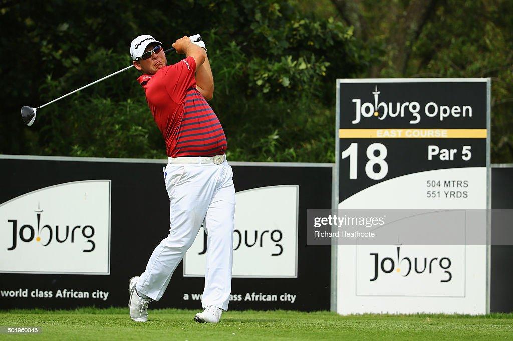 Joburg Open - Day One : News Photo