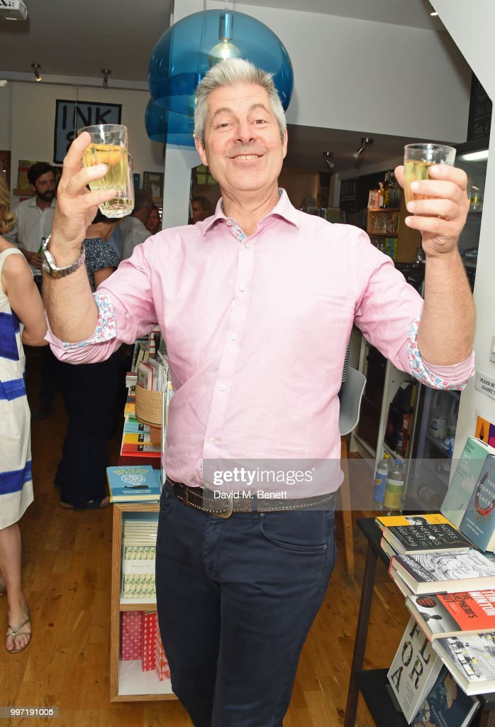 Justin Webb attends the launch of new book 'Ctrl Alt Delete' by Tom Baldwin at Ink 84 on July 12, 2018 in London, England.