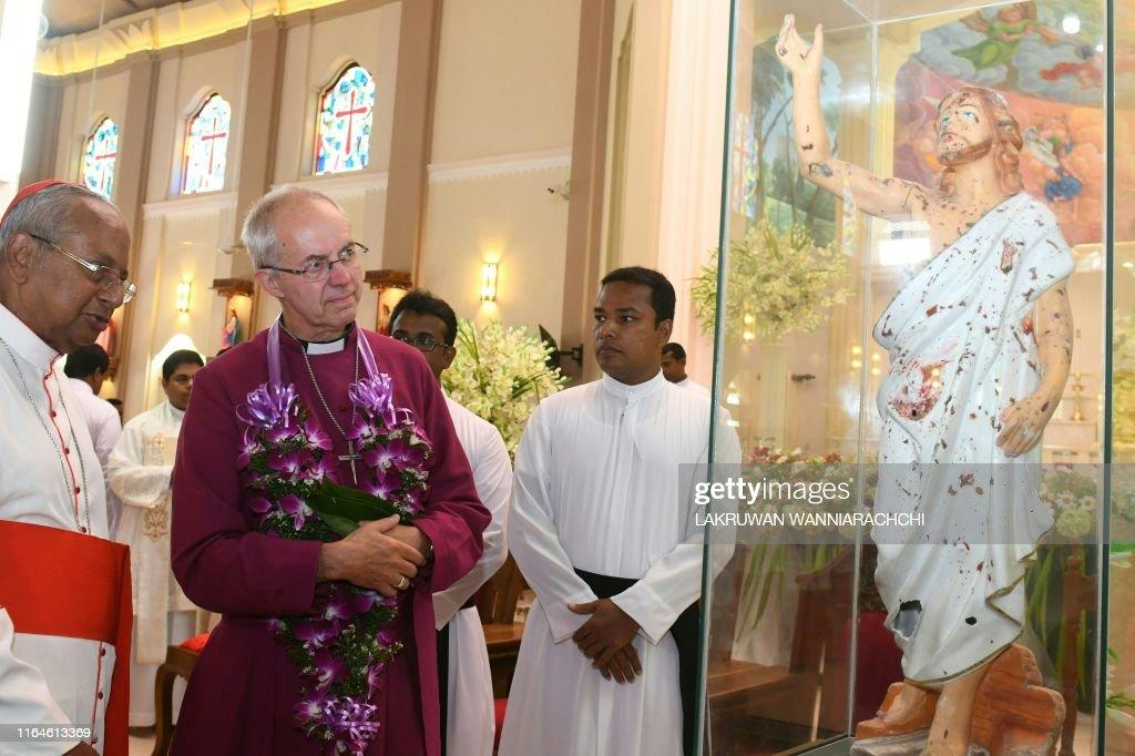SRI LANKA-RELIGION-CHRISTIANITY : News Photo