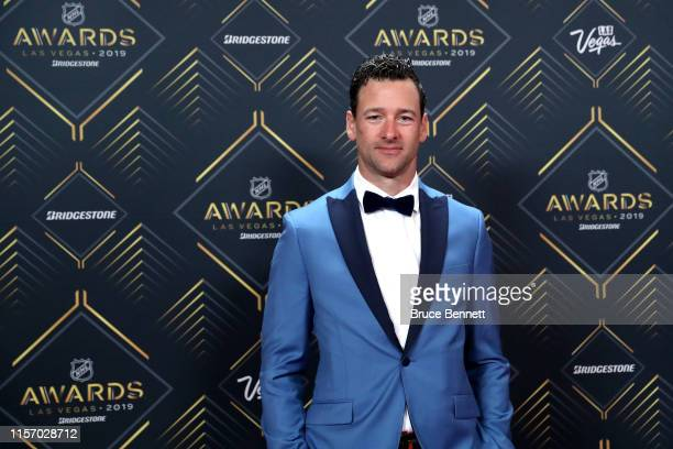Justin Williams of the Carolina Hurricanes arrives at the 2019 NHL Awards at the Mandalay Bay Events Center on June 19, 2019 in Las Vegas, Nevada.