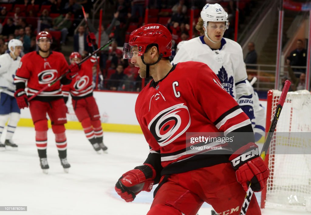 Toronto Maple Leafs v Carolina Hurricanes : News Photo