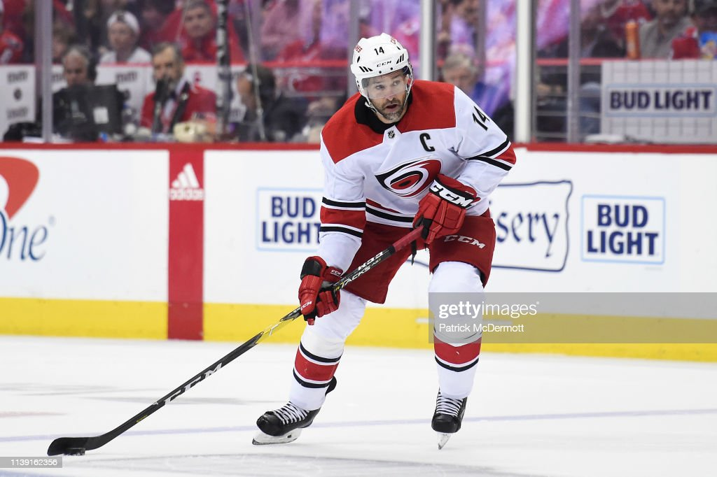 Carolina Hurricanes v Washington Capitals - Game Seven : News Photo