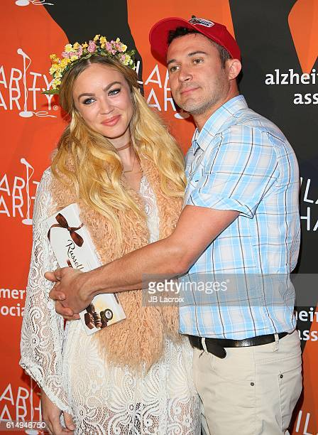 Justin Willman and Jillian Sipkins attend Hilarity for Charity's 5th Annual Los Angeles Variety Show Seth Rogen's Halloween at Hollywood Palladium on...